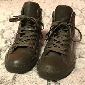 Converse Hightop Rain Boot - Army Green